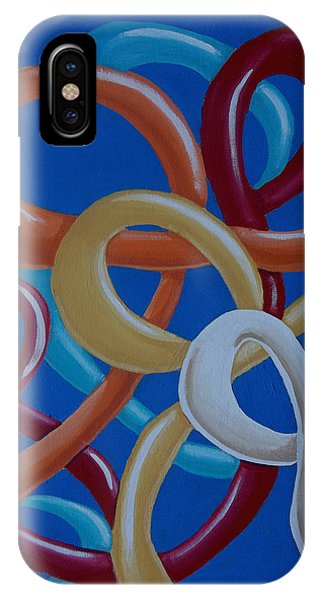 Ribbons In The Sky IPhone Case