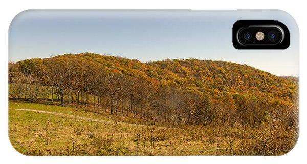 Rich Mountain Autumn IPhone Case