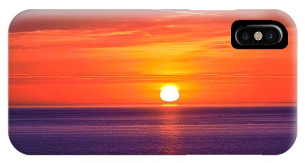 Rich Sunset IPhone Case