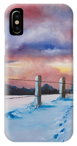 Rich Wintertide IPhone Case