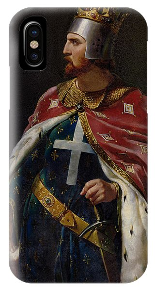 Chain iPhone Case - Richard I The Lionheart by Merry Joseph Blondel