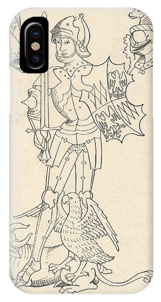 Rous iPhone Case - Richard Neville (1428 - 1471), Earl by Mary Evans Picture Library