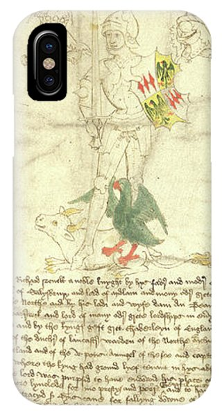 Rous iPhone Case - Richard Neville by British Library