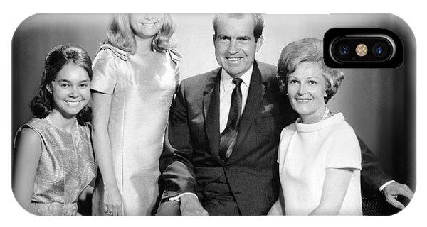 Richard Nixon And Family IPhone Case