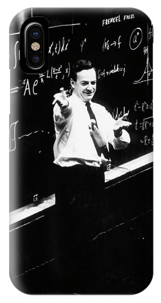 Behaviour iPhone Case - Richard P. Feynman (1918-1988) by Cern/science Photo Library