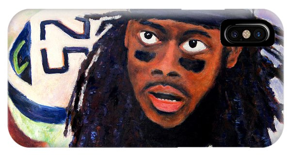 Richard Sherman IPhone Case