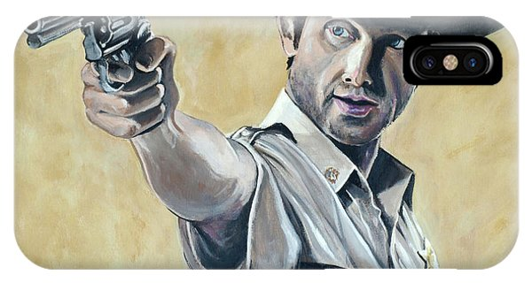Rick Grimes IPhone Case