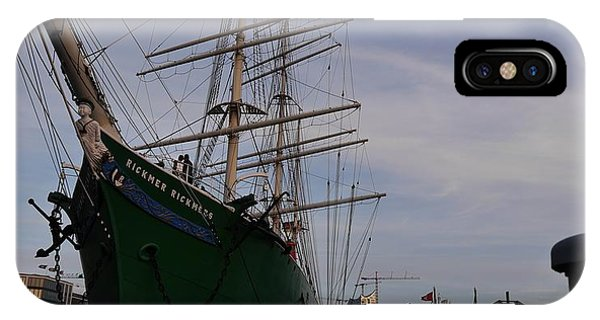 iPhone Case - Rickmer Rickmers by Peter Norden