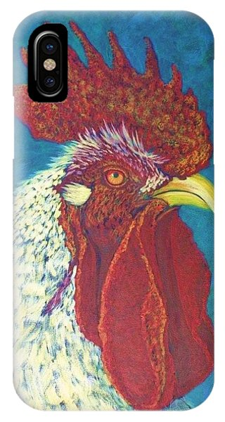 iPhone Case - Ricky The Rooster by Cynthia Sampson
