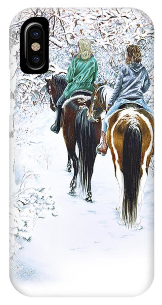 Ride Into Faerieland IPhone Case