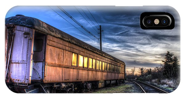 Ride The Rails IPhone Case