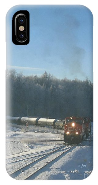 Ride The Rails IPhone Case