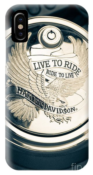 Ride To Live IPhone Case