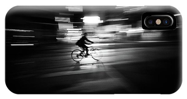 Cycling iPhone Case - Rider by Rui Caria