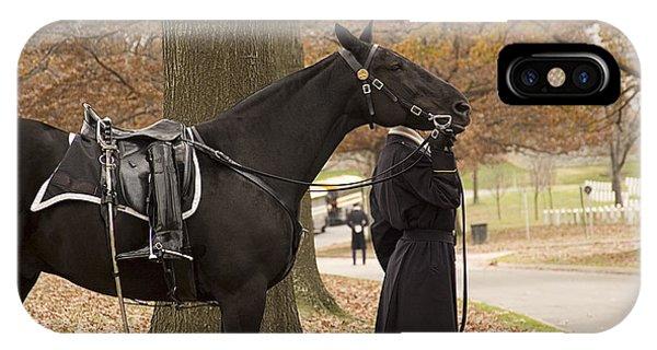 Riderless Horse IPhone Case