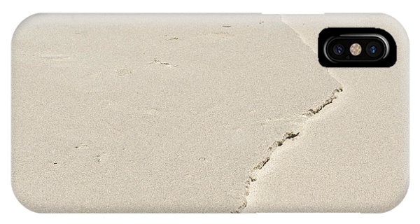 Ridge In The Sand At Big Sur IPhone Case