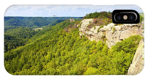 Ridge Top View IPhone Case