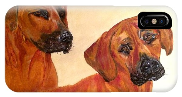 Ridgebacks IPhone Case