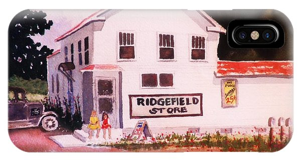 Ridgefield Country Store IPhone Case