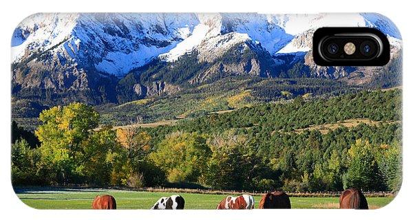 Ridgeway Rl Ranch Phone Case by Robert Yone