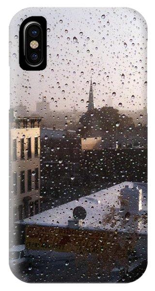 Ridgewood Wet With Rain IPhone Case