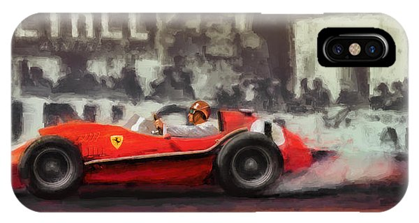 Ridin The Red Roman Phone Case by Alan Greene