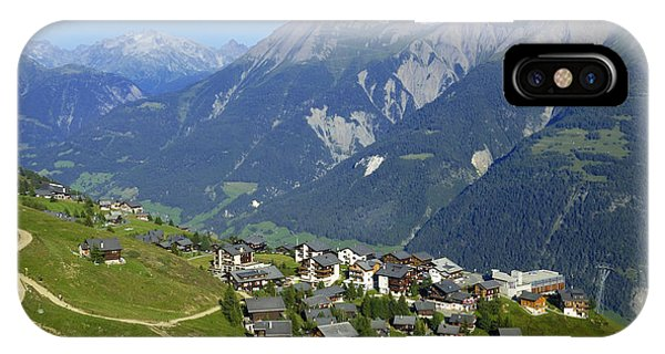 Riederalp Valais Swiss Alps Switzerland IPhone Case