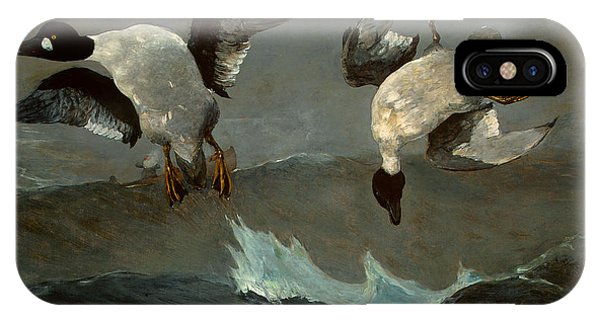 iPhone Case - Right And Left  by Winslow Homer