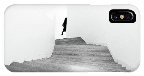 Staircase iPhone Case - Right by Dong Hee Han