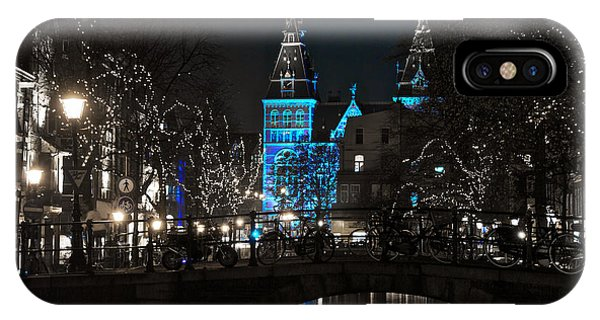 Rijksmuseum In Blue IPhone Case