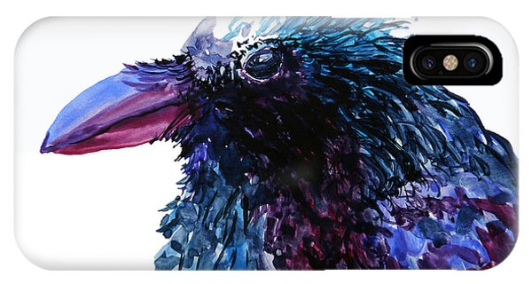 Riled Raven IPhone Case