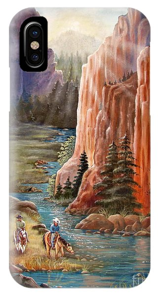 Rim Canyon Ride IPhone Case