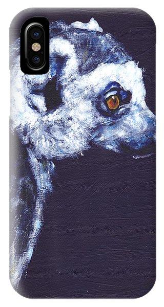 Ring-tailed Lemur iPhone Case - Ring Tailed Lemur by Clare Sherwen