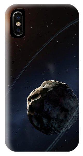 Centaur iPhone Case - Ringed Asteroid Chariklo by Mark Garlick