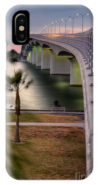 Ringling Causeway Bridge Overlook IPhone Case