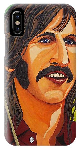 Ringo Star    Stick IPhone Case