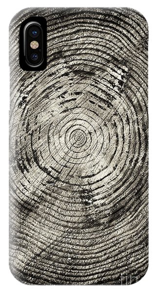 Tree iPhone Case - Rings Of Time  by Tim Gainey