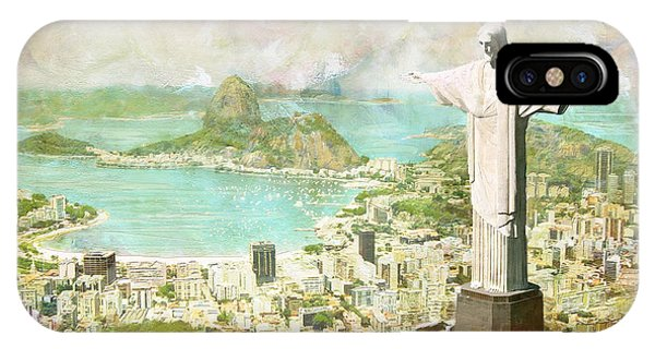 San Miguel iPhone Case - Rio De Janeiro by Catf