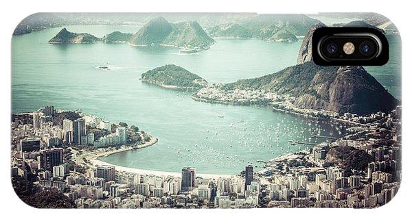 Travel iPhone Case - Rio De Janeiro by Mariusz Prusaczyk