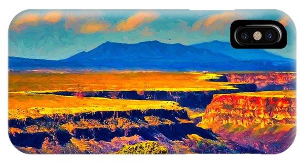 Rio Grande Gorge Lv IPhone Case