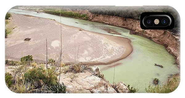 Rio Grande In Boquillas Canyon Phone Case by Bob Gibbons/science Photo Library