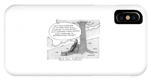 Rip Van Yuppie IPhone Case