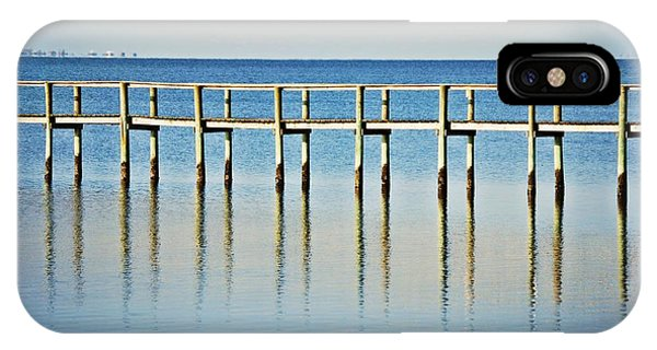 IPhone Case featuring the photograph Rippled Reflections by Judy Hall-Folde