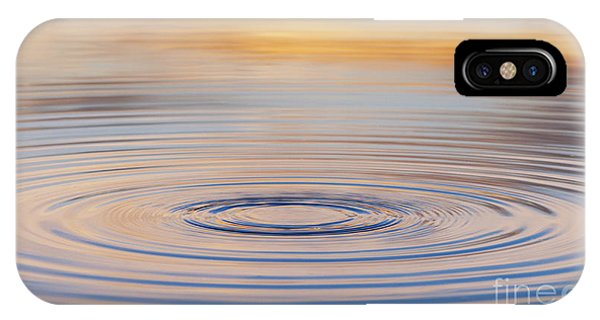 Ripples On A Still Pond IPhone Case