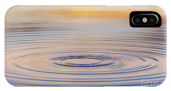 Water iPhone Case - Ripples On A Still Pond by Tim Gainey