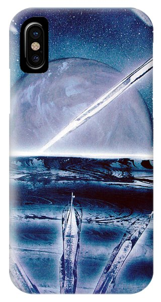 IPhone Case featuring the painting Riptide  by Jason Girard