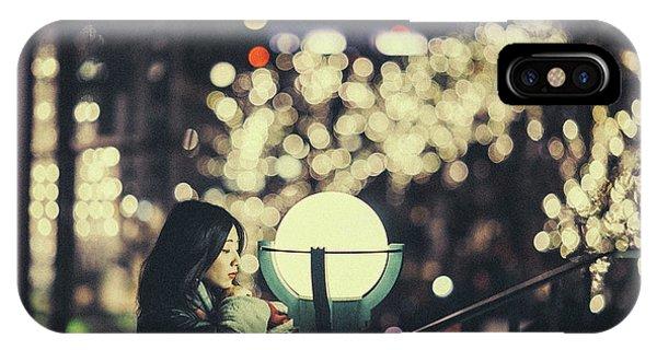 Street Light iPhone Case - Risa by Daisuke Kiyota