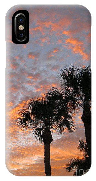 Rise And Shine. Florida. Morning Sky View IPhone Case