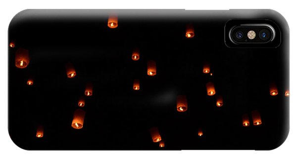 Rise Festival Lanterns 2014 Horizontal Sky Only Number One IPhone Case