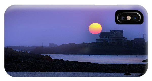Rising Ball Of Fire IPhone Case